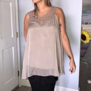dbbf410ef4 New Bellambra 100% silk long top